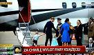 Il principe Goerge vuole salire sull'aereo, ma papà William gli fa rispettare l'etichetta