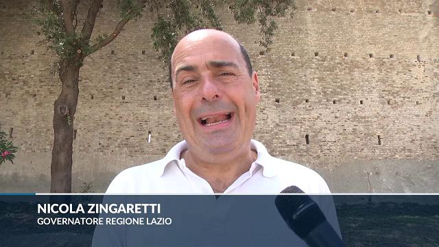 """Bracciano, Zingaretti: """"Obbligati all'ordinanza, si rischia catastrofe ambientale"""""""