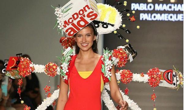 """""""McDCouture"""", abiti realizzati con le confezioni del celebre fast food"""