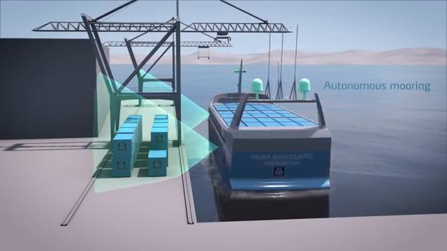Norvegia: la prima nave cargo a guida autonoma