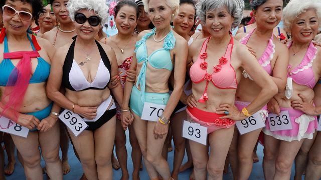 Non è mai troppo tardi per un bikini, un concorso per le over 55
