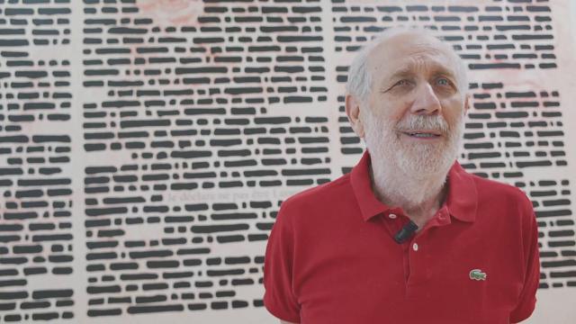 Isgrò, l'artista che ha sconfitto Roger Waters in tribunale: ''Ecco le mie 'Cancellature', iniziate 50 anni fa''