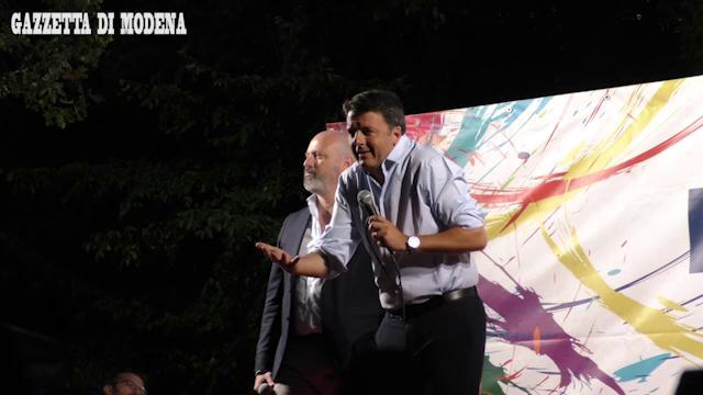 Trecento persone a Castelfranco per Renzi
