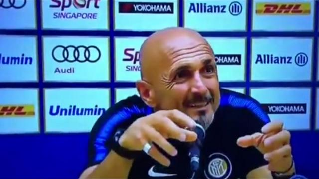 """Is important the team"", Spalletti e i problemi con l'inglese"