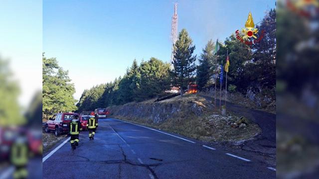 """Incendio al Terminlllo, il gestore del camping: """"Soccorsi tempestivi, nessun ferito"""""""