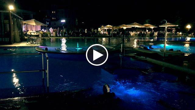Terme euganee il bagno notturno alle piscine preistoriche - Terme euganee piscine ...