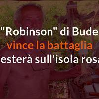 Mauro da Budelli vince la battaglia e resta sull'isola rosa