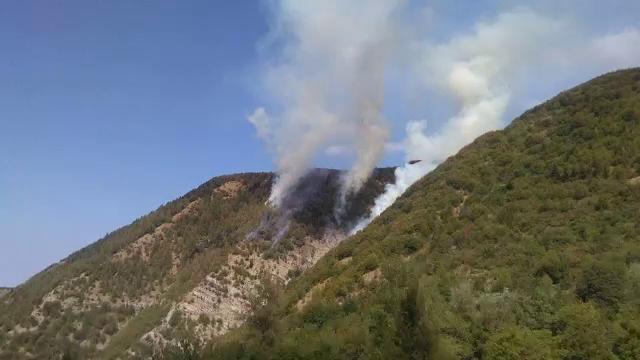 Incendi al Brallo di Pregola