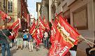 Genova, in piazza i lavoratori delle mense comunali