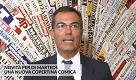 """DiMartedì, Floris: """"La copertina a Gene Gnocchi, quando il gioco si fa duro..."""""""
