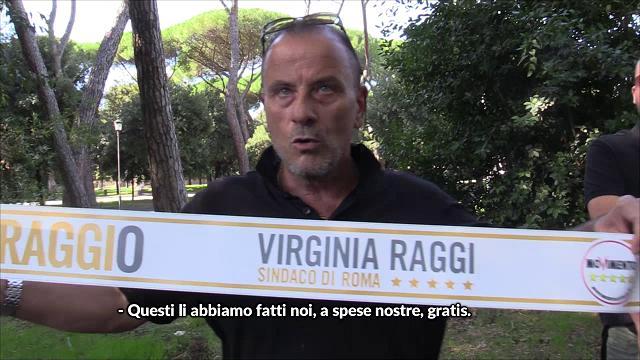 Roma, la contestazione dei tassisti alla sindaca Raggi: ''L'abbiamo sostenuta e lei ci ha abbandonati''
