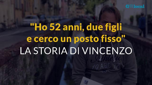 """L'appello di Vincenzo: """"Ho 52 anni e cerco un posto fisso"""""""