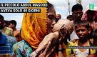 Hamida piange il figlio, morto a 40 giorni durante la fuga dal Myanmar