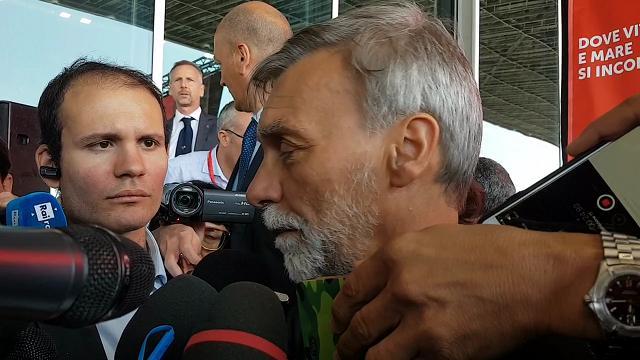 """Delrio al Salone Nautico: """"Avanti con il Terzo Valico e la Gronda"""""""
