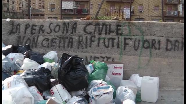 Palermo: nel quartiere Sperone è allarme degrado