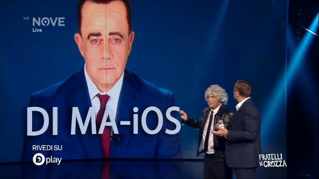 """Fratelli di Crozza: Grillo presenta """"Di Ma-Ios"""", il sistema operativo del M5s"""