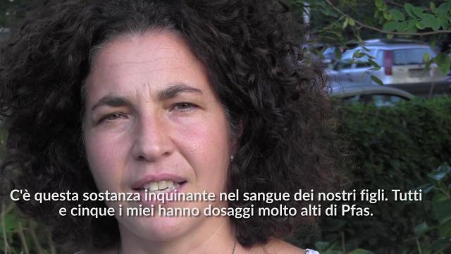 Trissino (Vicenza), la mamma ''No Pfas''. ''I miei cinque figli tutti contaminati''