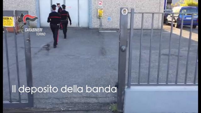 Furti, la banda dei georgiani in azione e il loro deposito a Reggio Emilia