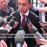 """Di Maio, prima uscita da candidato premier: """"M5s unico argine a estremismi in Europa"""""""