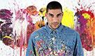 Omar Hassan, l'arte di dipingere con i guantoni