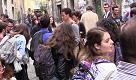 Flash mob al Conservatorio, gli allievi contro l'aumento delle tasse