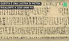 """Gli archeologi hanno decifrato una scritta di 3200 anni fa che parla dell'invasione di misteriosi """"uomini del mare"""""""