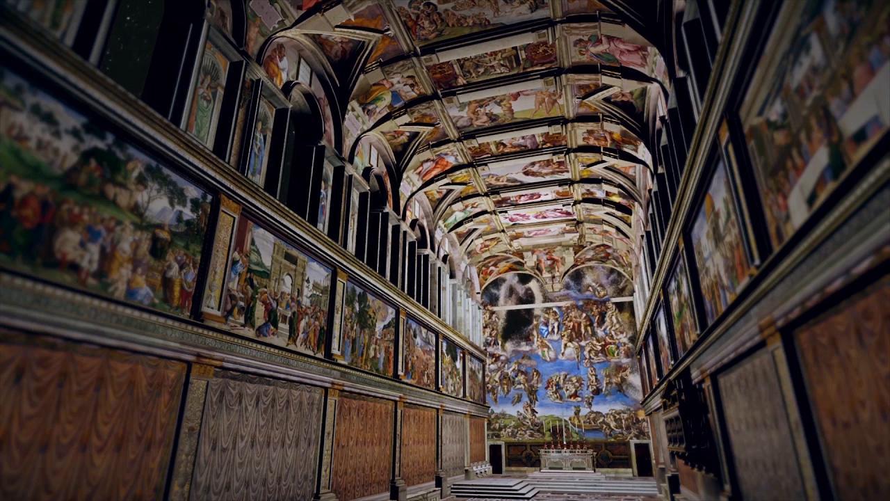 Nasce lo spettacolo giudizio universale un mix di for Decorazione quattrocentesca della cappella sistina
