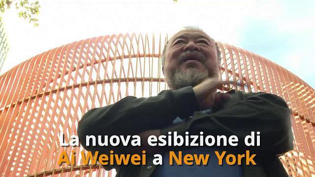 New York, il dissidente contro le frontiere: la nuova installazione di Ai Weiwei