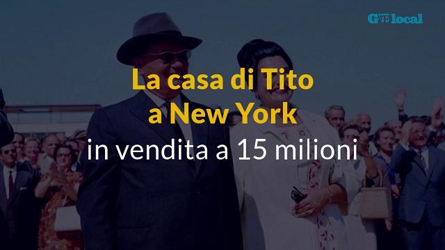La casa di Tito a New York sul mercato per 15 milioni