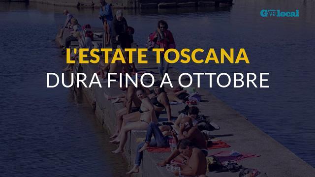 Spiagge e mare: l'estate in Toscana dura fino a ottobre