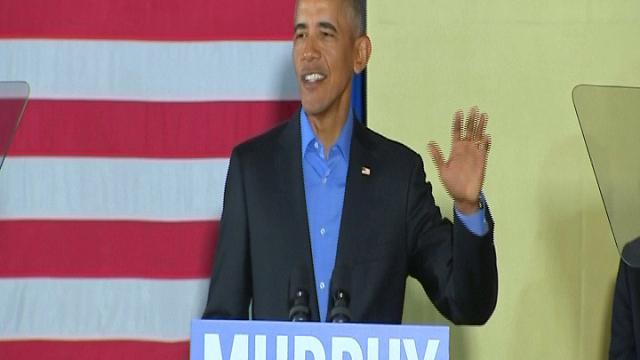"Usa, la folla acclama Obama: ""Altri 4 anni"""
