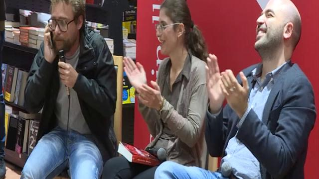 Bari: Saviano, lo Ius soli e la finta tefonata a Matteo Salvini