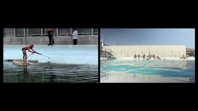 Saturno, la cisterna ripulita diventa una piscina per gli operai della fabbrica