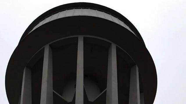 La torre dell'acquedotto di Oderzo perde acqua