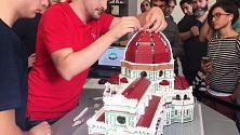 Firenze, la costruzione del Duomo in time lapse
