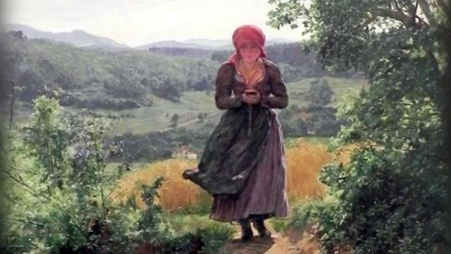 Un iPhone in un quadro del 1800? Quel dettaglio sembra proprio un cellulare
