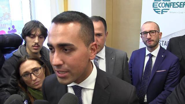 """Di Maio: """"Vinceremo le elezioni senza alleanze e chiederemo la fiducia in Parlamento"""""""