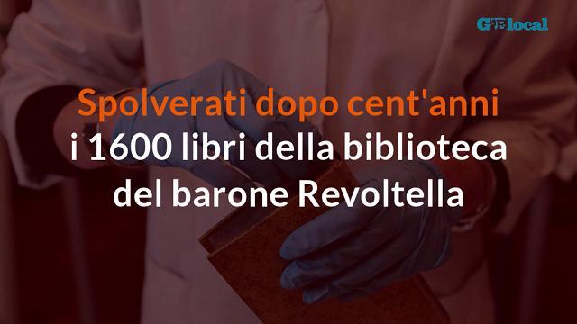 Spolverati dopo cent'anni i libri del barone Revoltella