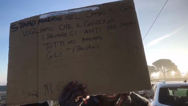 Lunedì mattina, nuova marcia dei migranti di Conetta