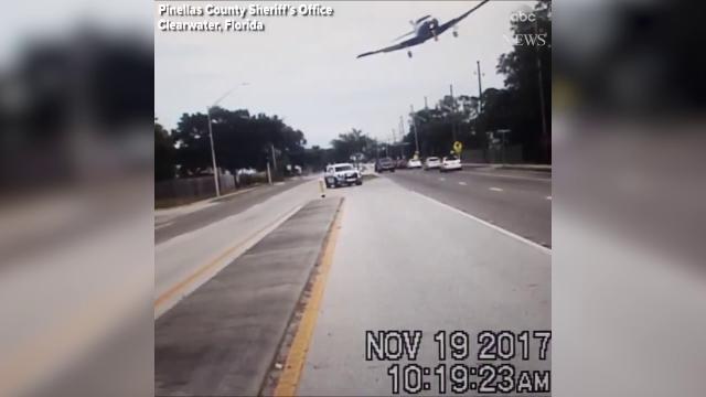 Usa, incidente sulla Statale: l'aereo si schianta su un albero