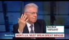 Mario Monti Says U.K. Must 'Break' Brexit Impasse