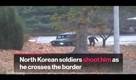 North Korean Soldier Shot During Escape Over Border