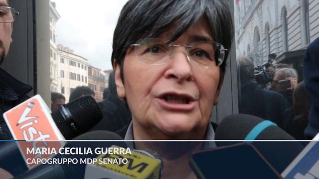 Centrosinistra, nessuna intesa col Pd. Mdp e SI: ''Tempo scaduto, Grasso sarà nostro leader''