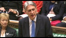 U.K.'s Hammond Says Growth Outlook Has Deteriorated
