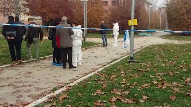 Uccisa nel parco a Milano mentre porta fuori il cane, i rilievi della Scientifica