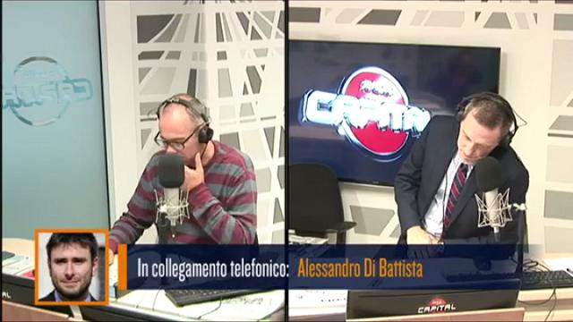 """Di Battista a Renzi: """"Se non si ricandidasse avrebbe la stima degli italiani"""""""