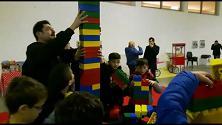 Milioni di mattoncini Lego alla Mostra d'Oltremare
