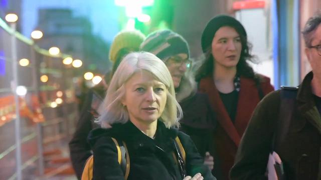 Patti Smith a Porta Capuana: l'entusiasmo dei fan
