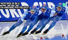 Il colore blu fa andare i pattinatori più veloci?