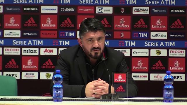 """Milan, Gattuso difende Donnarumma: """"Dipiace vedere così il portiere più forte al mondo"""""""